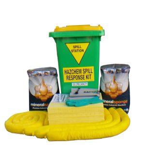compliant 120 litre hazchem spill kit