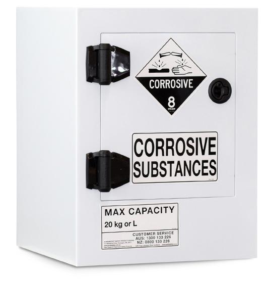 Poly Corrosive Storage Cabinet – 20 Litre