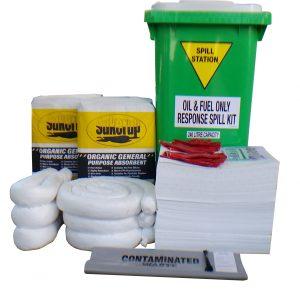 Compliant oil fuel spill kit