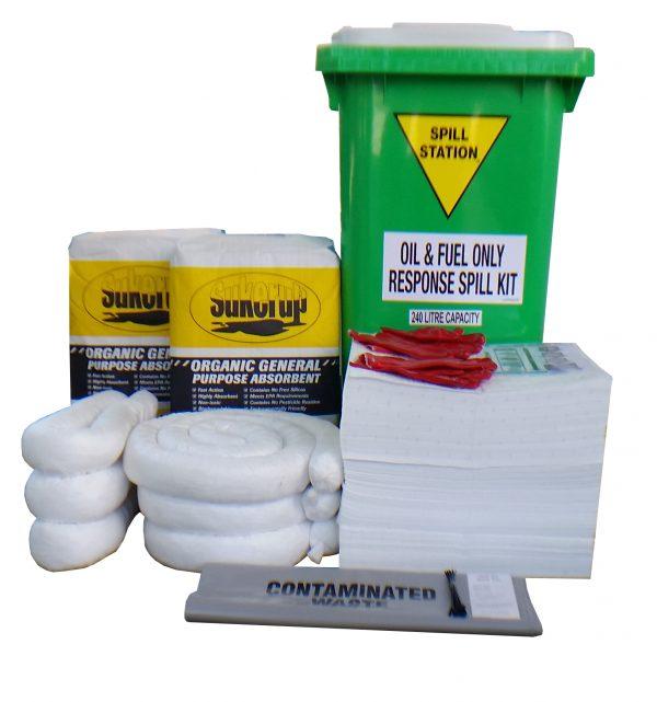 AusSpill Compliant Oil Fuel Spill Kit – 240 Litre