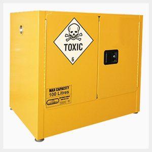 Toxic Substance Storage Cabinet – 100 Litre 2-Door