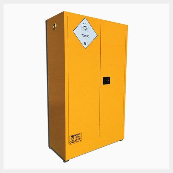 Toxic Substance Storage Cabinet – 250 Litre 2-Door