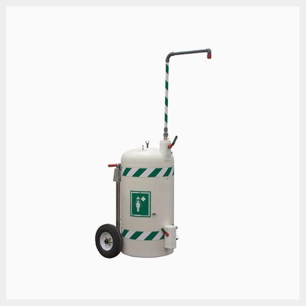 Portable Interim Safety Shower