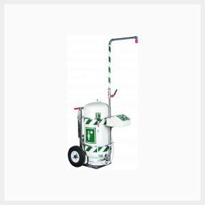 H-STD40K45G Portable Interim Safety Shower/Eyewash