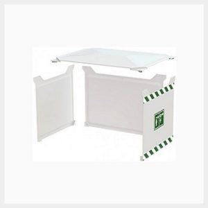 Sunshield for 1500 Litre Tank Shower – 3 Sides & Roof