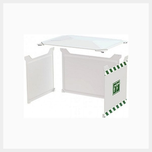 Sunshield for 1500 Litre Tank Shower – 3 Sides & Roof