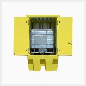 TSSBB1HCS - Hard Cover Single IBC Spill Pallet
