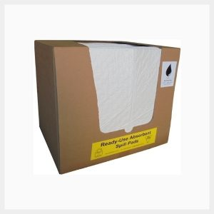 Absorbent Pads 50 Sheets Oil & Fuel 200 GSM