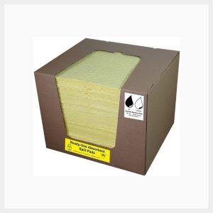 Absorbent Pads 25 Sheets Hazchem 200 GSM