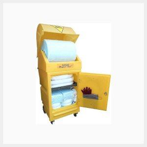 300 Litre Hazardous Chemical Spill Kit in Wheeled Poly Cart