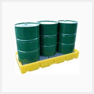 TSSBP3 3-Drum In-Line Spill Pallet