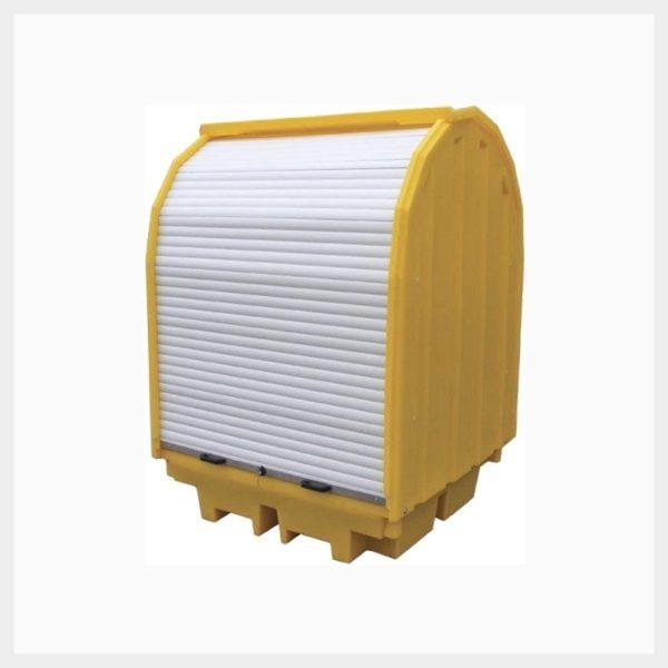 410 Litre Hard-Cover Spill Pallet
