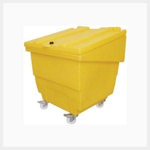 250 Litre Low-Rise Storage Bin on Wheels