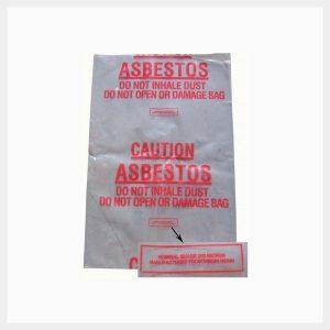 Asbestos Waste Disposal Bags