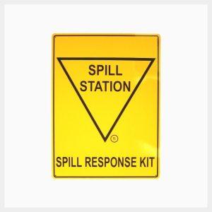 Spill Station Sign