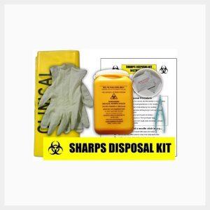 Sharps Clean Up Kit Bag